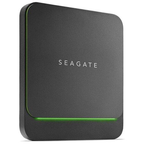 Фото - Внешний SSD Seagate BarraCuda Fast 500 GB, черный внешний ssd seagate expansion stjd 500 gb черный