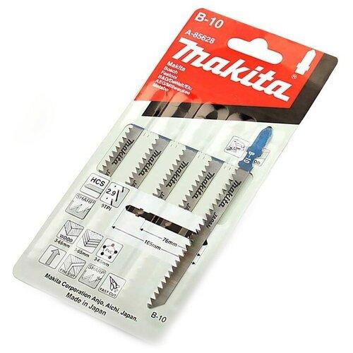 Фото - Набор пилок для электролобзика Makita A-85628 5 шт. набор пилок для электролобзика skrab 20885 5 шт