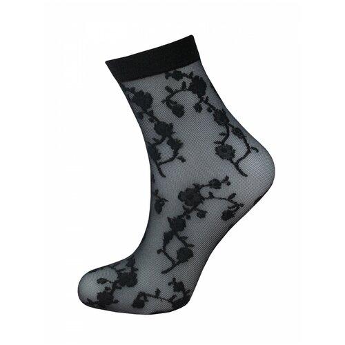 Капроновые носки Trasparenze Sean (c), размер Unica, nero T