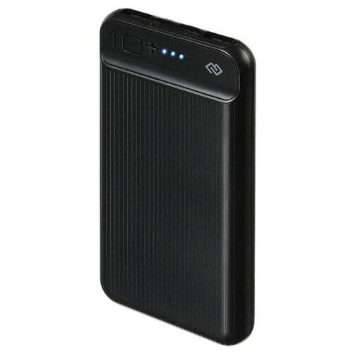 Аккумулятор DIGMA DG-10000-3U, черный аккумулятор digma dg 10000 sml bl серый