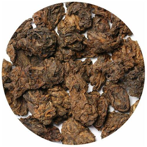 Фото - Чай Пуэр Шу Комковой Дикий (кат. С), 250 г чай пуэр шен белый дикий кат в 500 г