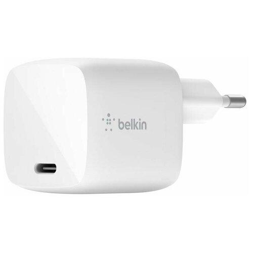 Фото - Сетевое зарядное устройство Belkin 30Вт USB-C PD WCH001vfWH (White) зарядное устройство belkin universal microusb white