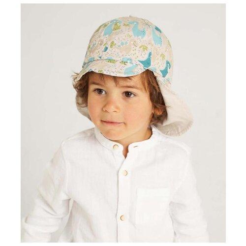 Купить Бейсболка для мальчика Kotik МС-1004, размер 48-50, бежевый, Головные уборы
