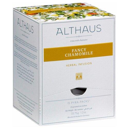 Фото - Чай травяной Althaus Fancy Chamomile в пирамидках, 15 шт. чай травяной леторос душевный разговор в пирамидках 20 шт