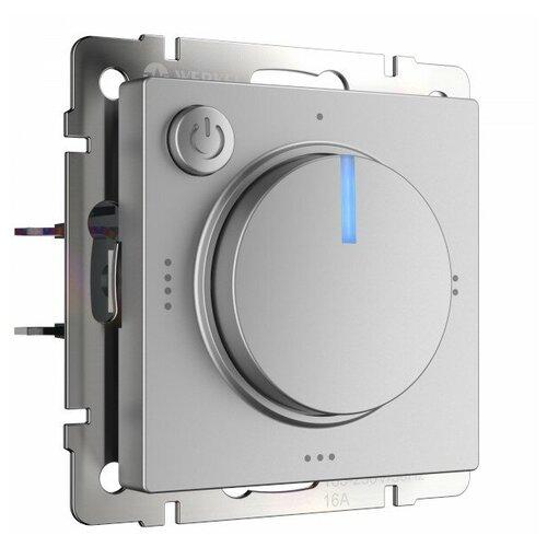 Выключатель W1151106 WERKEL Встраиваемые механизмы серебряные