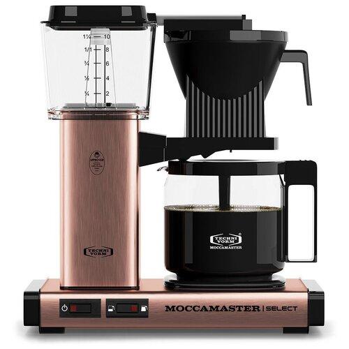 Кофеварка Moccamaster KBG741 Select медный