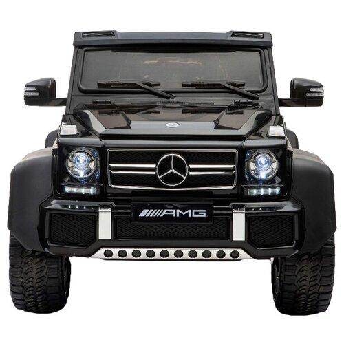 Купить RiverToys Автомобиль Mercedes-Benz G63 AMG 4WD A006AA, черный, Электромобили
