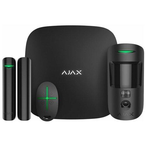 Комплект умного дома Ajax StarterKit Cam Black