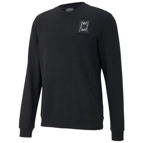Свитшот PUMA Pivot Men's Basketball Sweater размер M, puma black толстовка puma размер m 140 puma black