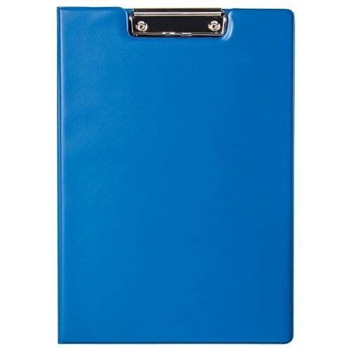 Berlingo Папка-планшет с зажимом с крышкой А4, ПВХ синий