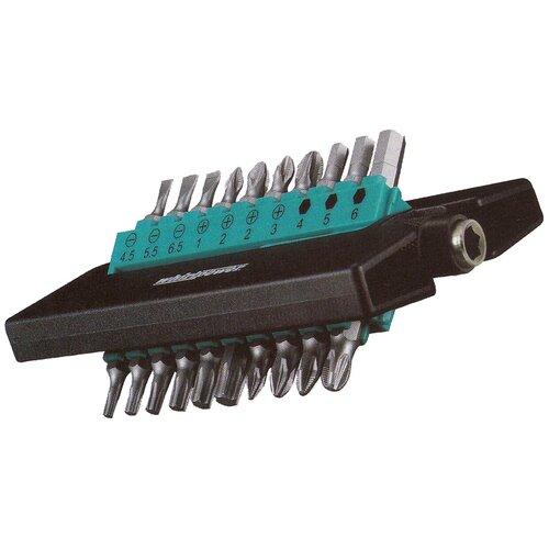 Фото - Набор бит WhirlPower 96-5121, 21 предм., серебристый набор бит whirlpower 962 22 2002 2 2 предм
