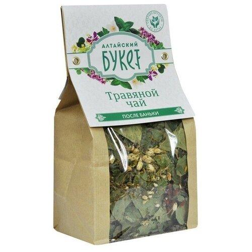 Чай травяной Алтайский букет После баньки, 80 г