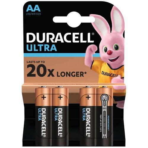 Фото - Батарейка Duracell Ultra Power AA/LR6, 4 шт. батарейка energizer maximum power boost aa lr6 4 шт