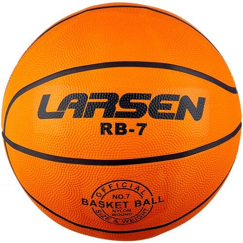 Баскетбольный мяч Larsen RB (ECE), р. 7 оранжевый баскетбольный мяч larsen pu6 р 6