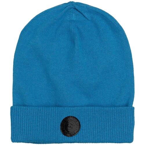 Шапка бини Gulliver размер 50, синий шапка бини playtoday размер 50 темно синий