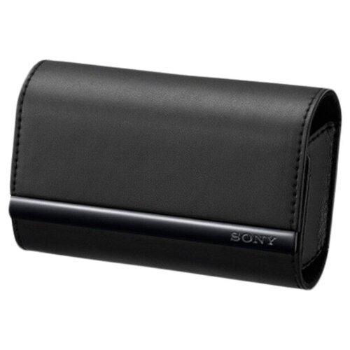 Чехол для фотокамеры Sony LCS-TWJ Black для аппаратов серий G/ J/ T/ TX/ W/ WX черный (LCSTWJ.AE)