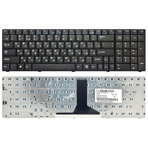 Клавиатура для ноутбука EMACHINES G620 черная