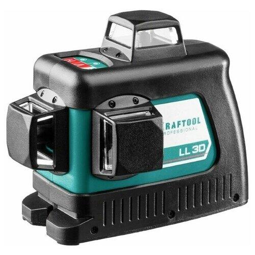 KRAFTOOL LL 3D зеленый лазерный нивелир, арт. 34641