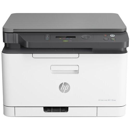 Фото - МФУ HP Color Laser MFP 178nw, белый/черный мфу hp laser mfp 137fnw 4zb84a