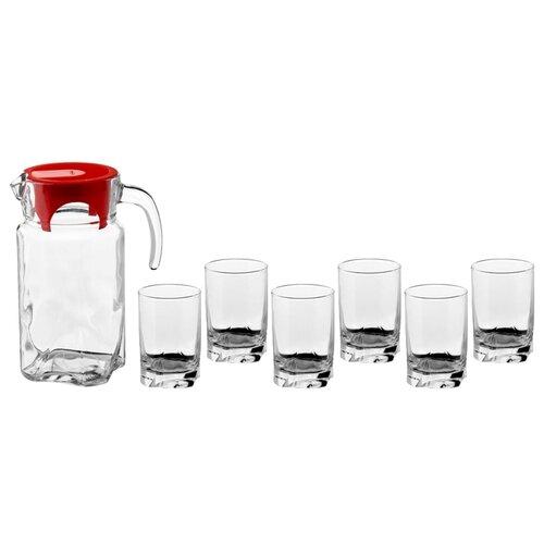 Набор питьевой Луна (кувшин 1,7 л+ 6 стаканов 255 мл) 1167745