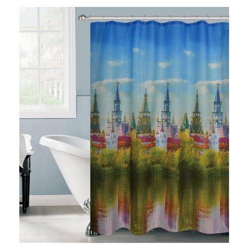 Штора для ванной ROSENBERG R-730221 180х180 мультицвет недорого