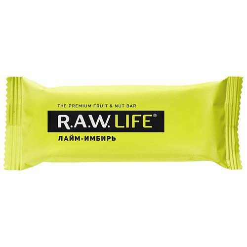 Фото - Фруктовый батончик R.A.W. Life без сахара Лайм-Имбирь, 47 г фруктовый батончик r a w life без сахара кешью 47 г