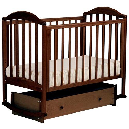 Купить АБ 17.4 Люкс кровать маятниковая универсальная (орех темный 35), ЛЕЛЬ (Кубаньлесстрой), Кроватки