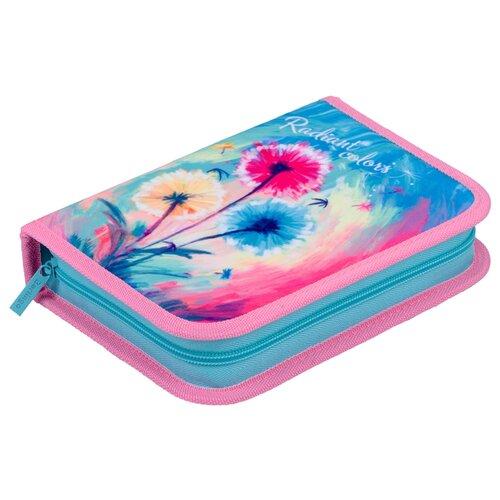 Купить Berlingo Пенал Radiant colors (PK05963) голубой/розовый, Пеналы