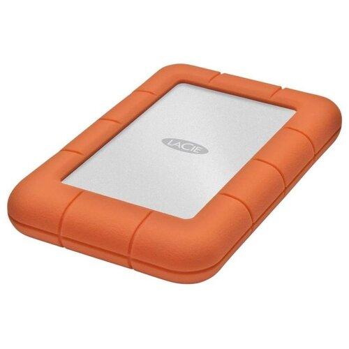 Фото - Внешний HDD Lacie Rugged Mini 5400rpm 1 TB, оранжевый lacie 2tb rugged mini 2 5 usb c
