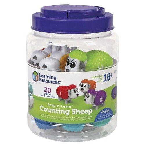 Счетный материал Learning Resources Разноцветные овечки