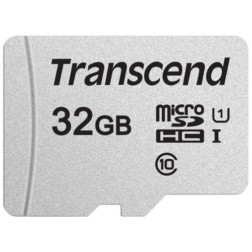 Фото - Карта памяти Transcend microSDHC 300S Class 10 UHS-I U1 32GB (TS32GUSD300S) карта памяти microsdhc 32gb transcend class10 u1 no adapter ts32gusdcu1