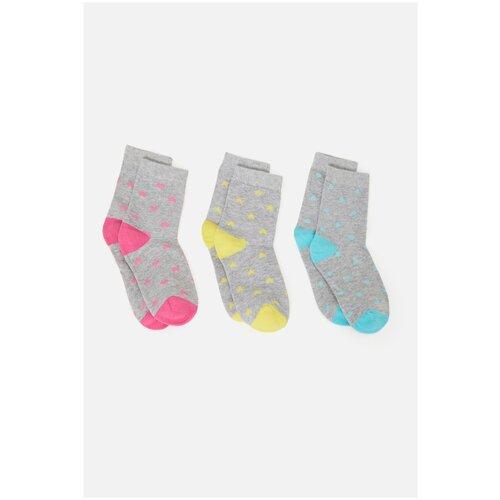 Носки 3 пары размер 20-22, цветной, ТМ Acoola, арт. 32214420073