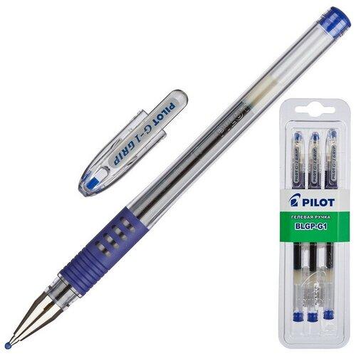 Купить Ручка гелевая PILOT BLGP-G1-5 рез.манж.синяя 0, 3мм 3шт/бл, Ручки