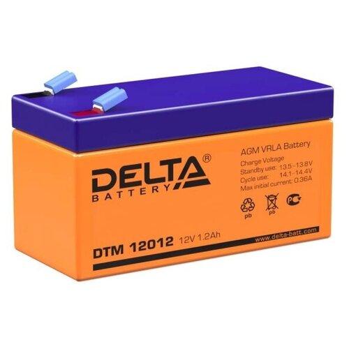 Аккумуляторная батарея DELTA Battery DTM 12012 1.2 А·ч