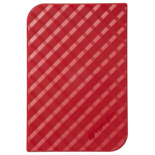 Фото - Внешний HDD Verbatim Store 'n' Go Style 1 TB, красный внешний hdd verbatim store n go style 1 tb navy blue