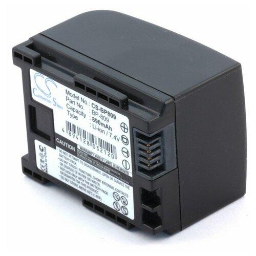 Аккумулятор для видеокамеры Canon BP-807 BP-809 BP-819
