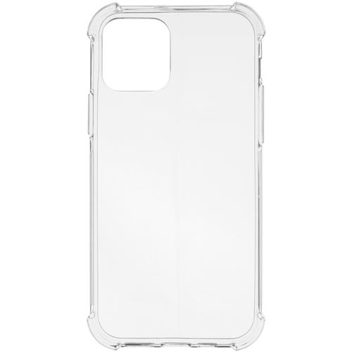 Противоударный силиконовый чехол ROSCO для Apple iPhone 12 и Apple iPhone 12 Pro (Эпл Айфон 12 и Айфон 12 Про), прозрачный