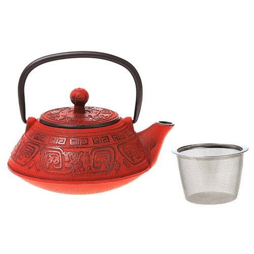 Lefard Заварочный чайник 400 мл, красный