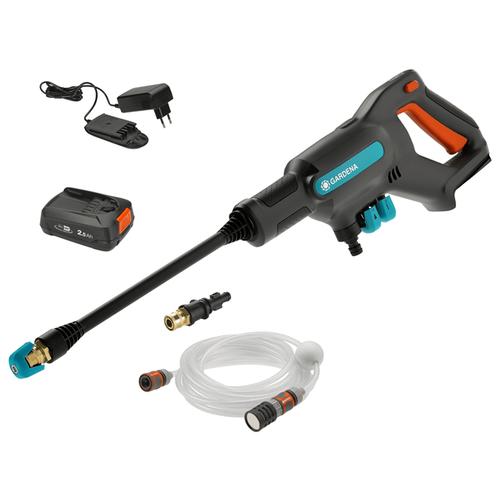 Аккумуляторная мойка высокого давления GARDENA 14800-20 AquaClean 24/18V, 24 бар