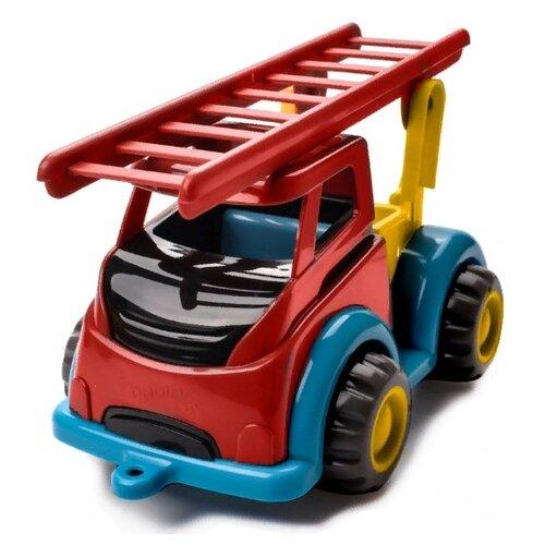 Пожарный автомобиль Viking Toys Mighty (1851) 28 см красный/синий/желтый
