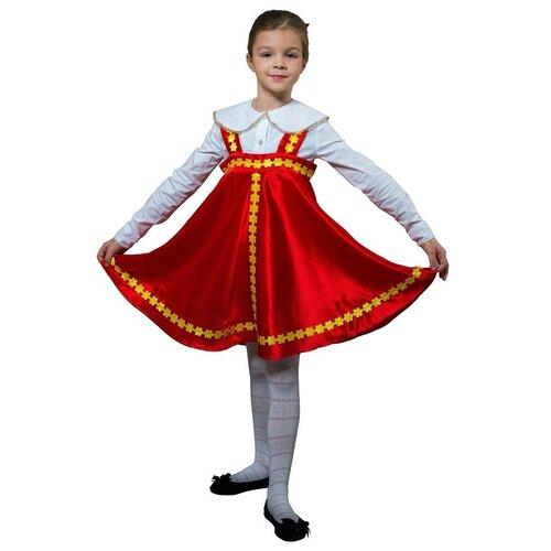 Купить Карнавальный костюм для детей Птица Феникс Яблочко плясовой детский, 122-128 см, ПТИЦА ФЕНИКС, Карнавальные костюмы
