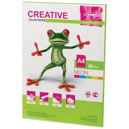 Фото - Бумага Creative A4 Color Neon 80 г/м² 50 лист., салатовый 50 fantastic ideas for creative role play
