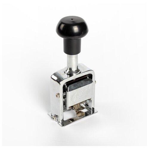 Нумератор 6 разрядный металлический автоматический 2694265