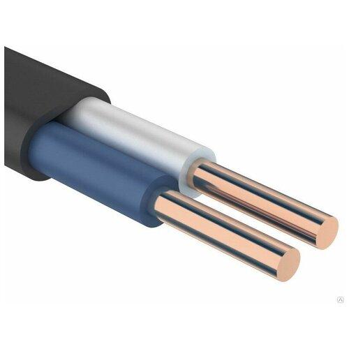 Фото - Кабель силовой ВВГ-Пнг(А)-LS 2х1.5 кв. мм ПАРТНЕР ЭЛЕКТРО ГОСТ черный 5 м катушка кабель партнер электро ввг пнг а 3х2 5 гост 50м