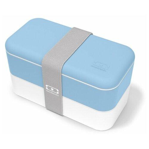 Monbento Ланч-бокс Original, Blue Crystal monbento ланч бокс original 18 6x11 см flower mood denim