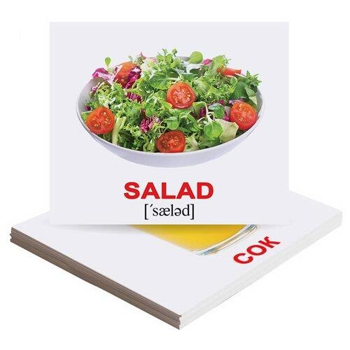 Фото - Набор карточек Вундеркинд с пелёнок Еда, Food 9.8x8.3 см 40 шт. набор карточек вундеркинд с пелёнок мини 40 праздники 10x8 см 40 шт
