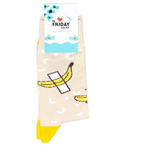 Носки с бананом на скотче St.Friday Socks 34-37