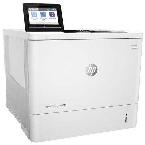 Фото - Принтер HP LaserJet Enterprise M611dn, белый принтер hp laserjet enterprise m611dn 7ps84a