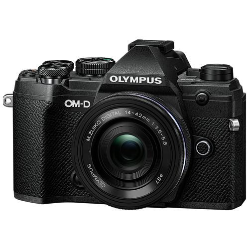 Фотоаппарат Olympus OM-D E-M5 Mark III Kit черный M.Zuiko Digital 14‑42mm F3.5‑5.6 II R