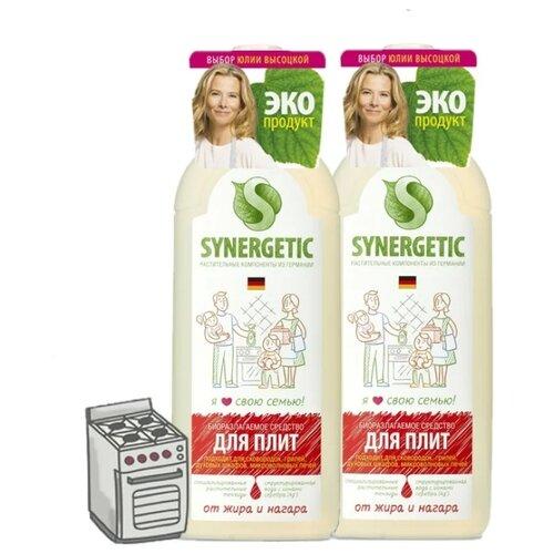 Фото - Средство для кухонных плит 0.75 л (2 шт.) Synergetic средство для кухонных плит 1 л 3 шт synergetic